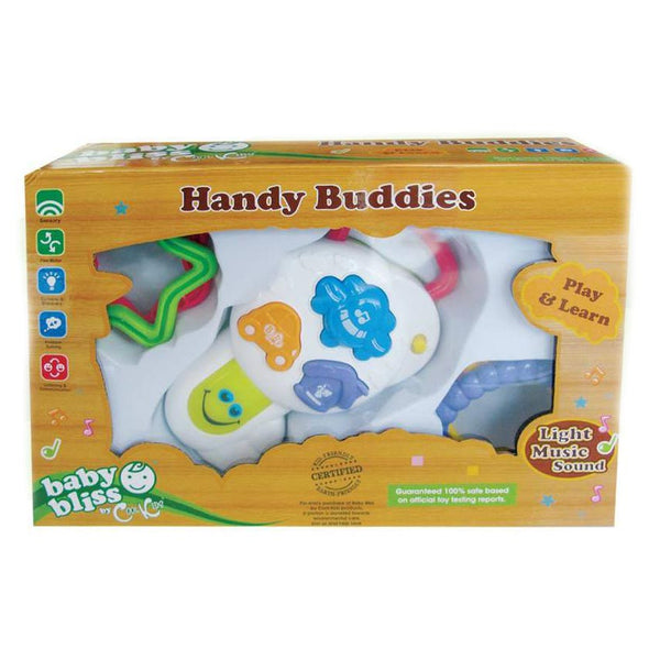 Baby Bliss Handy Buddies - Pretend Key & Shapes
