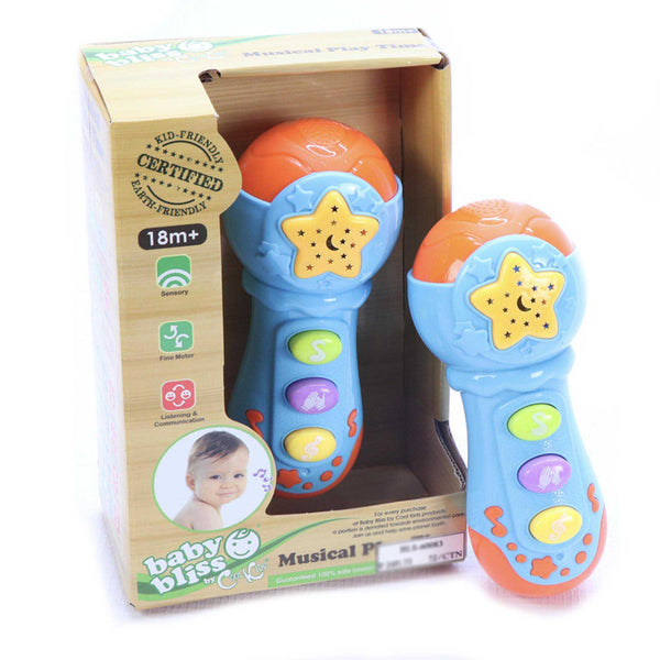 Baby Bliss Musical Playtime Microphone