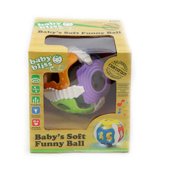 Baby Bliss Soft Funny Ball