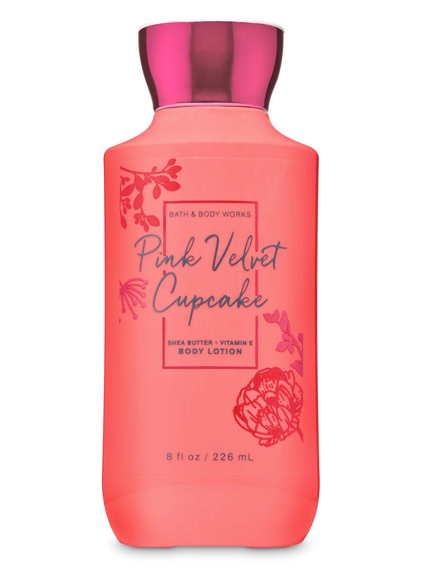 Bath & Body Works Pink Velvet Cupcake Body Lotion