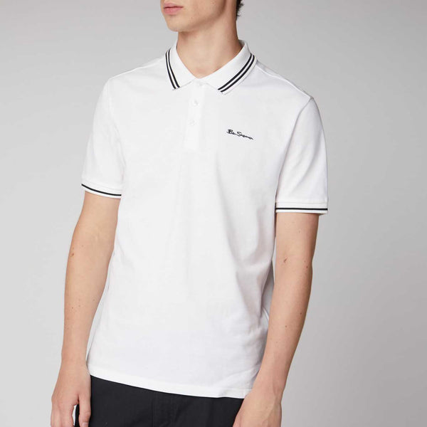 Ben Sherman Script Tipped Polo Shirt | Assorted Colors