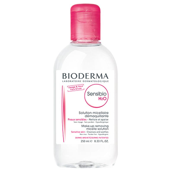 Bioderma Sensibio H2O Makeup Removing Micellar Solution (250mL)