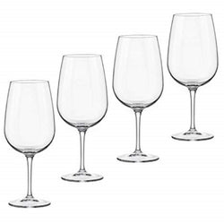 Bormioli Rocco Spazio Large Wine Glass Set of 4
