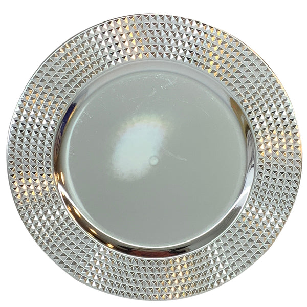 CHARGER PLATE DOT DESIGN