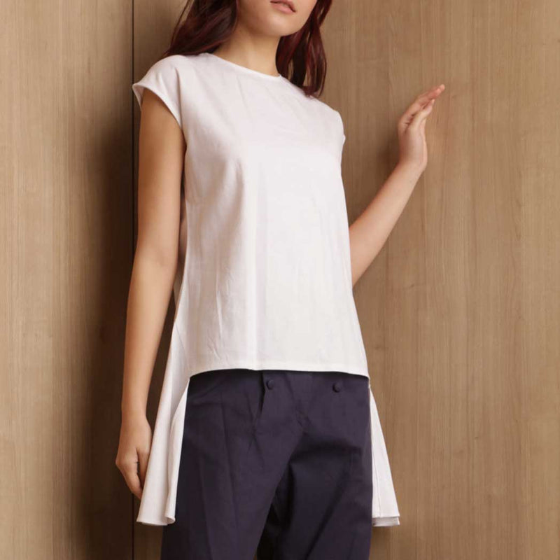 Canvas Agatha Top in White