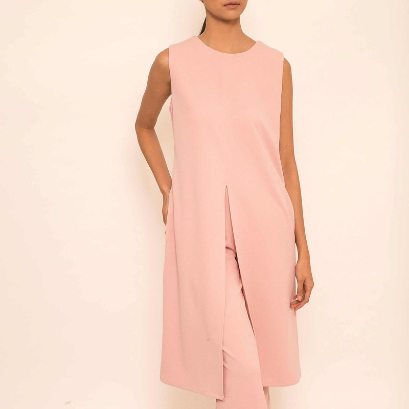 Canvas Agda Top in Blush