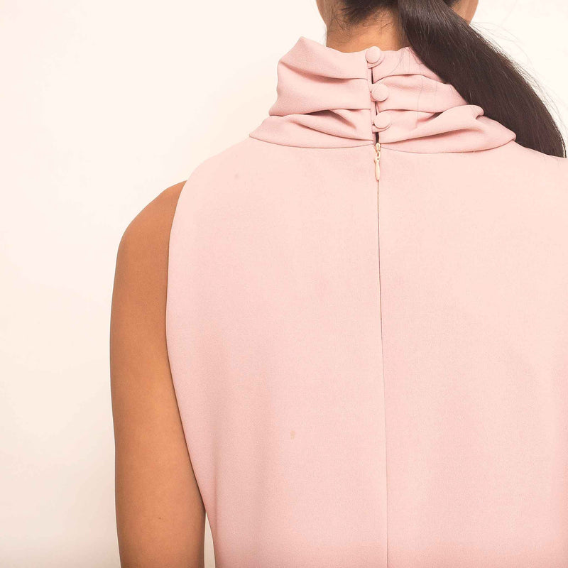 Canvas Astrid Dress in Blush