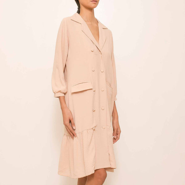 Canvas Cinammon Dress in Beige
