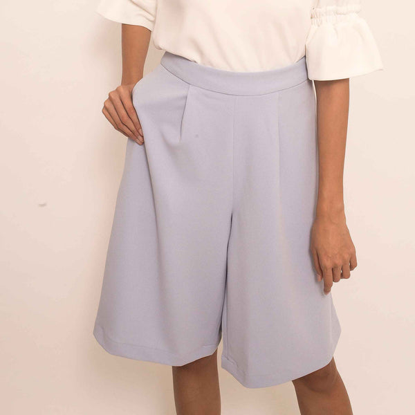 Canvas Elaina Culottes in Periwinkle