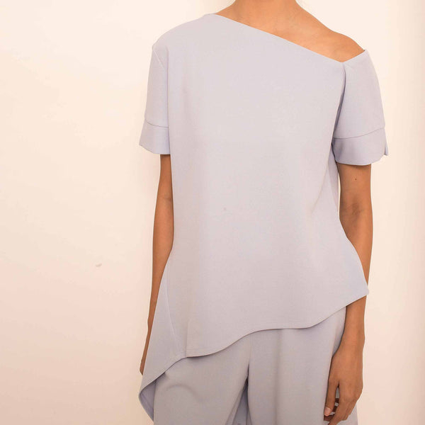 Canvas Gianni Top in Periwinkle