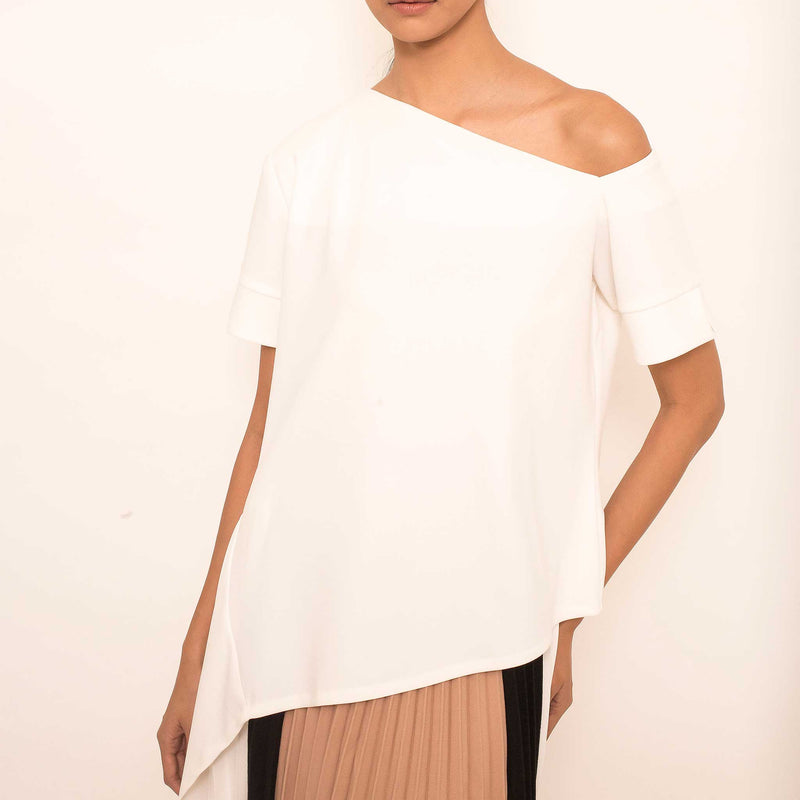 Canvas Gianni Top in White