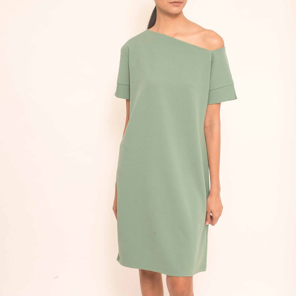Canvas Jerusha Dress in Jade