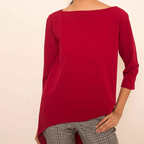 Canvas Kalisha Top in Red