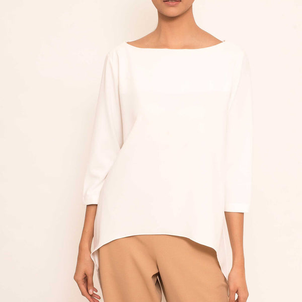 Canvas Kalisha Top in White