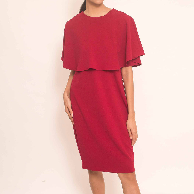 Canvas Malia Dress in Red