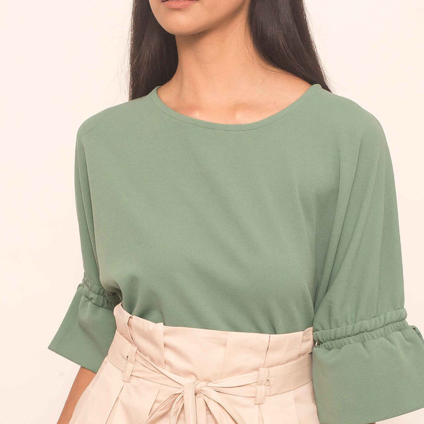 Canvas Nara Top in Jade