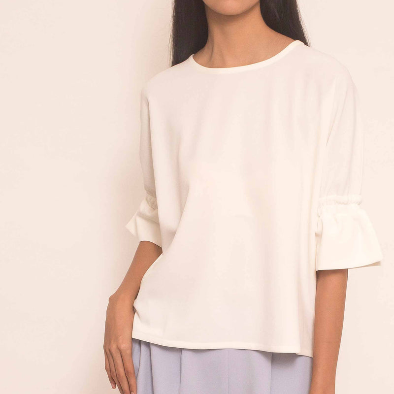 Canvas Nara Top in White