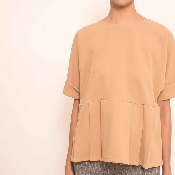 Canvas Reva Top in Mocha