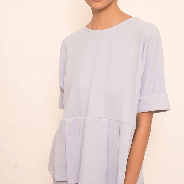Canvas Reva Top in Periwinkle