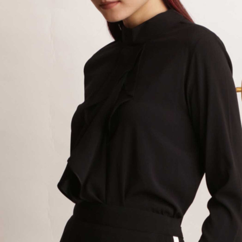 Canvas Rhea Top in Black