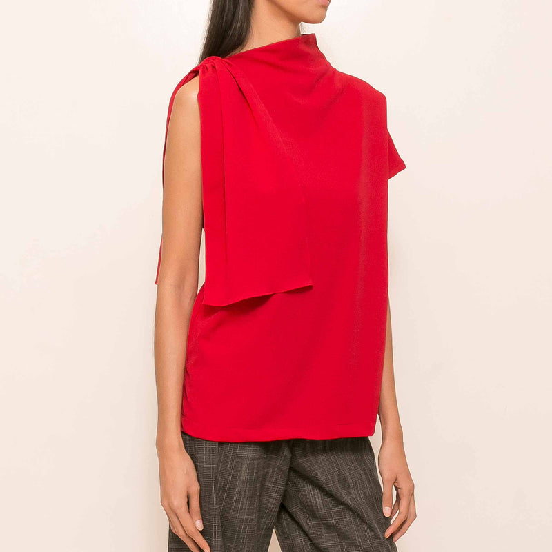 Sage Top in Red