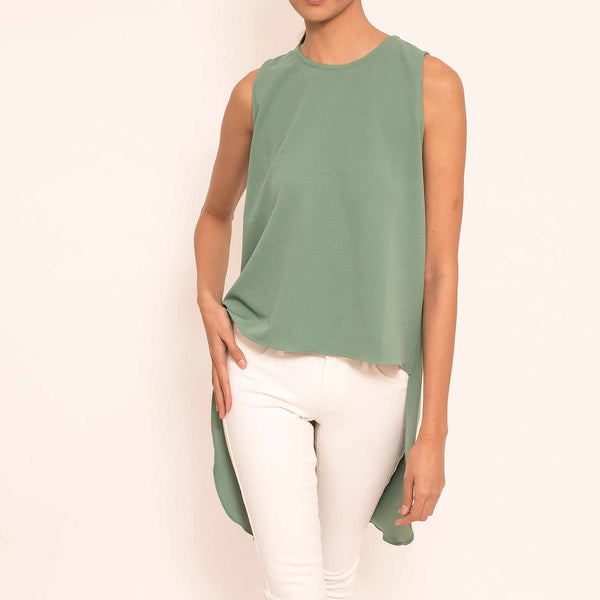 Canvas Samara Top in Jade