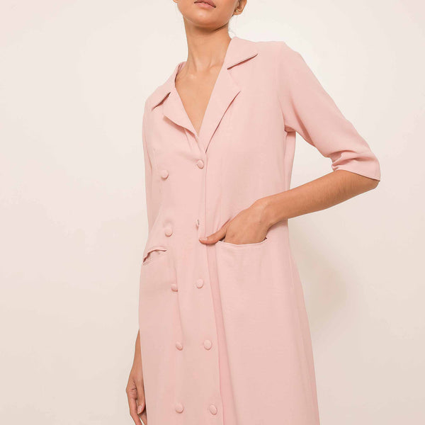 Sterly Dress in Blush