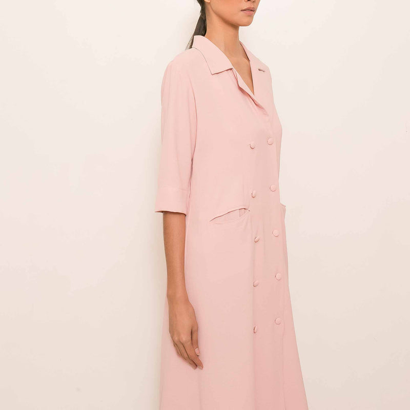 Canvas Sterly Dress in Blush