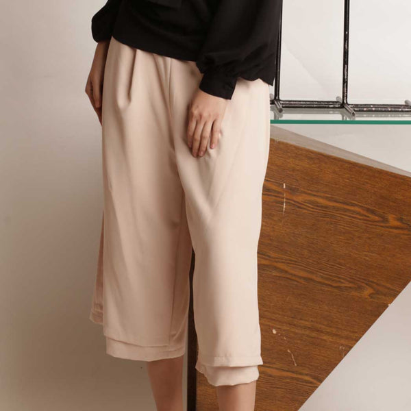 Canvas Vera Pants in Sand Blush
