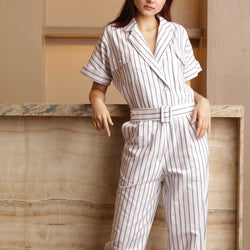 Canvas Zoila Jumpsuit In White
