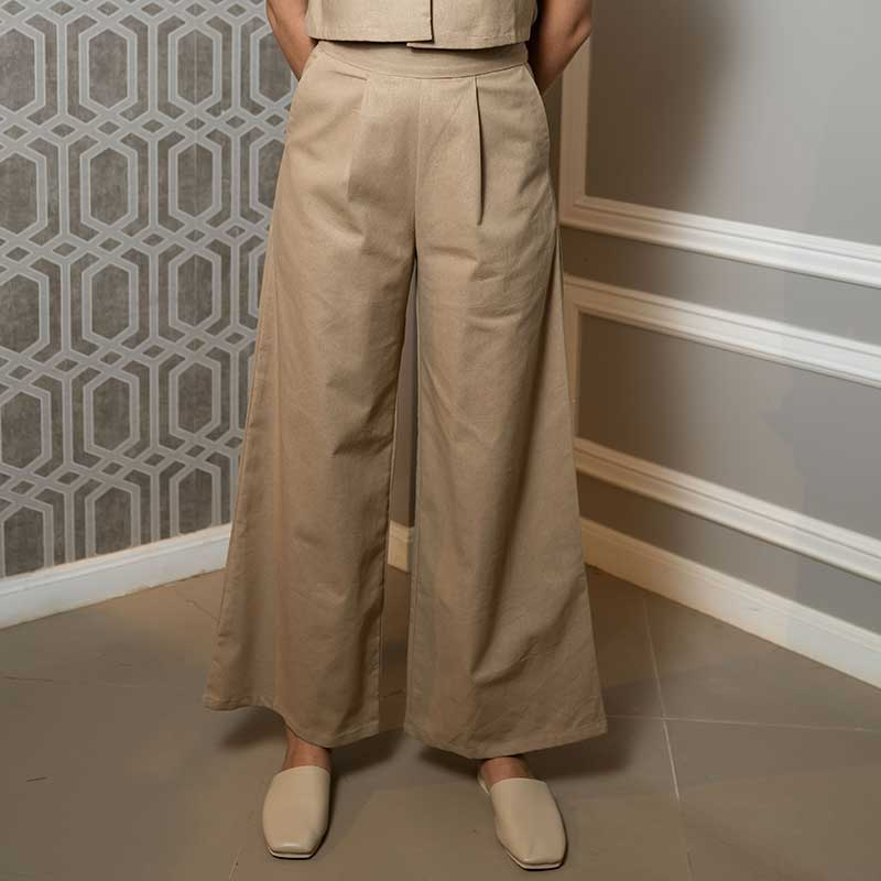 Canvas Karel Pants in Chestnut