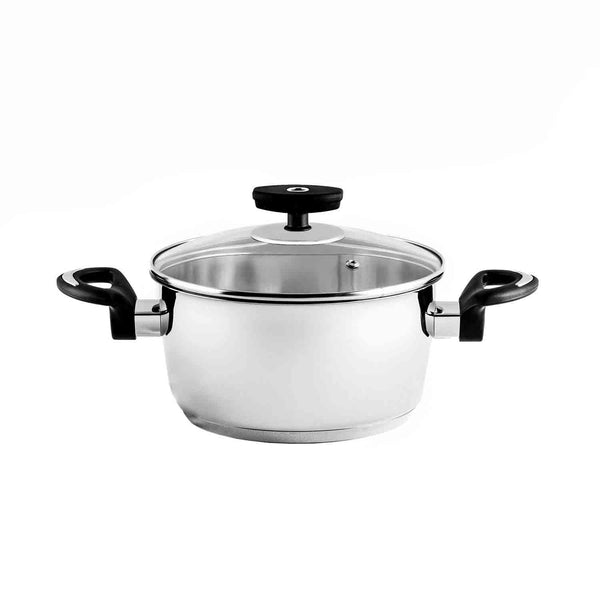 Chef's Classics Camomile Stainless Steel Casserole 24cm