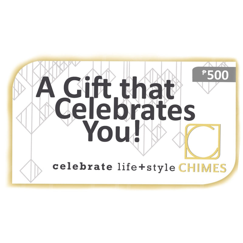 The Chimes Boutiques E-Gift Card - A Gift That Celebrates You!