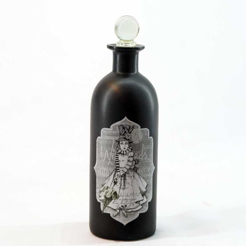 Décor | Set of 3 Decorative Black Bottles