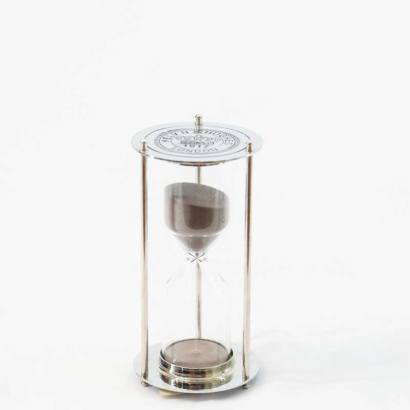 Décor | Silver London Hourglass (Small)
