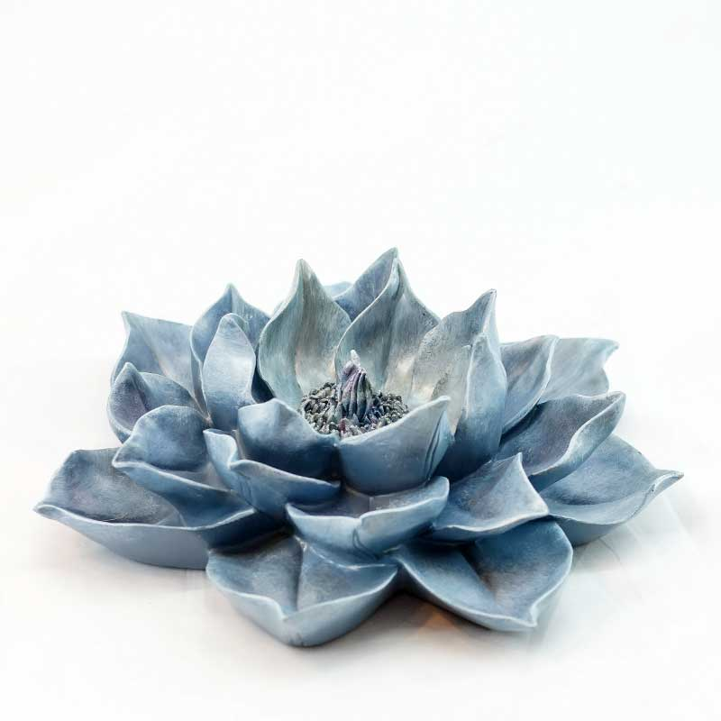 Décor | Blue Lotus Wall Accent