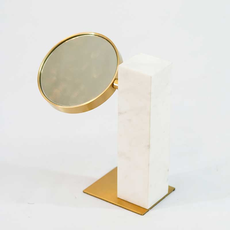 Décor | Marble Column with Mirror