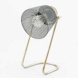 Lamps | Industrial Themed Lamp With Perforated Metal Shade