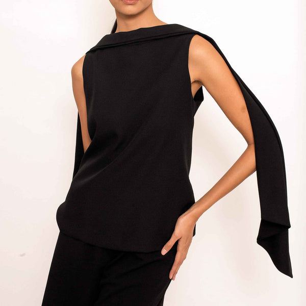 Patty Ang Baker Top in Black