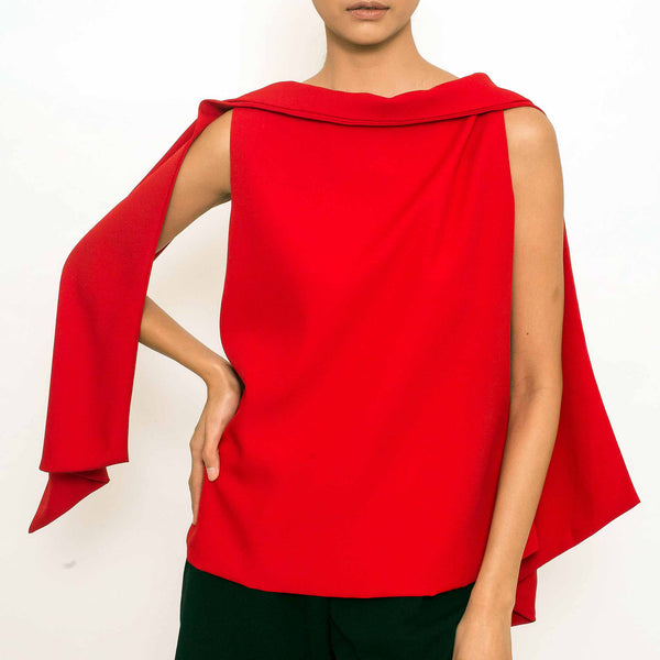 Patty Ang Baker Top in Red