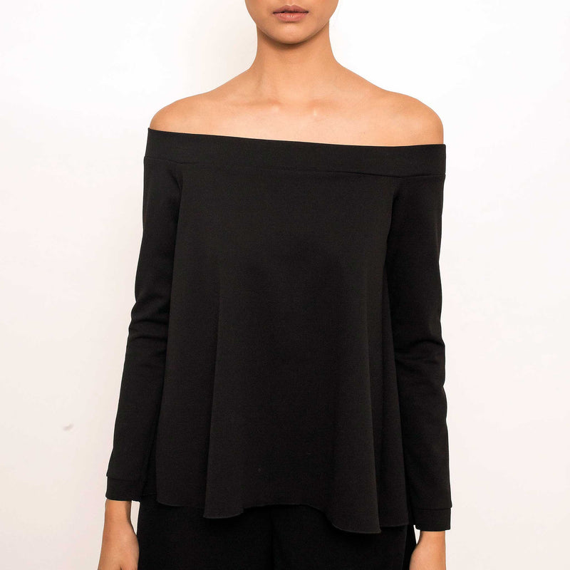Patty Ang Brook Top in Black