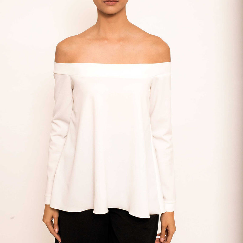 Patty Ang Brook Top in Ivory