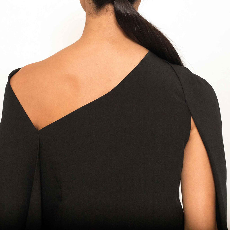 Patty Ang Campton Top in Black