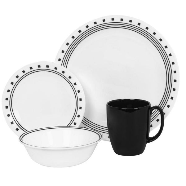 Corelle Livingware 16-pc. Set in City Block design