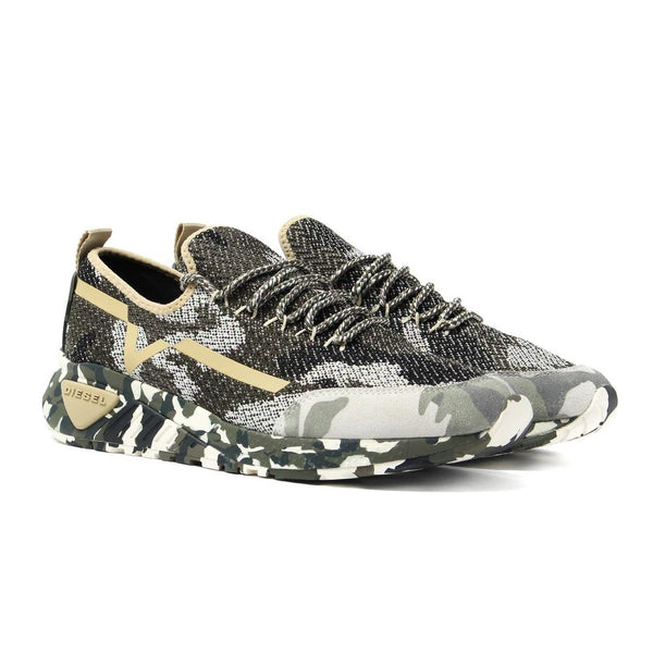 Diesel Men's S-KBY Trainer | Multicolor Camo