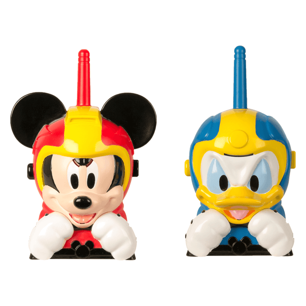 Disney Junior Mickey and the Roadster Racers Mickey and Donald Walkie Talkies