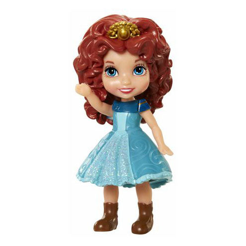 Disney Princess Poseable Mini Toddler Doll - Merida