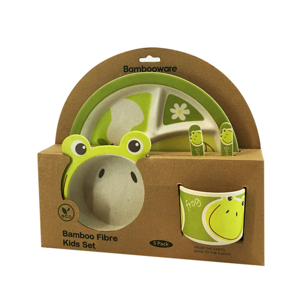 Infant's Bamboo Feeding Set