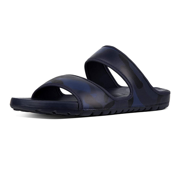 FitFlop Camouflage Men's Neoprene Sandals in Midnight Navy