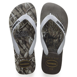 Havaianas TOP Game of Thrones Flip Flops | Steel Grey